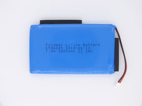 Rechargeable Li polymer Li ion battery For Satlink 7.4V 3000mAh