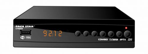 CT9212 combined HD cable and terrestrial DVB-C, DVB-T / T2 receiver with iptv