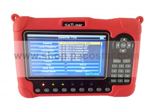 SATLINK WS-6980 Digital Satellite Finder DVB-S2/C/T2-COMBO with spectrum-analyzer