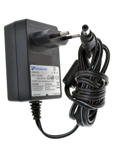 Power supply adapter for cable, satelite and terrestrial receivers 12v/ 2.0A