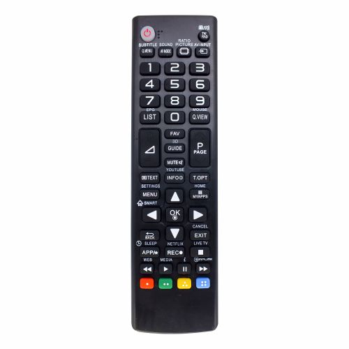 IR programmable remote control for TV RT1290